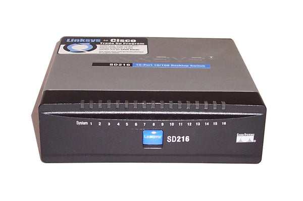 Cisco SD216 16-port 10/100 Desktop Switch