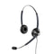 Jabra BIZ1900 Duo Stereo Corded Headset with GN1200 Quick Disconnect Coiled Smartcord