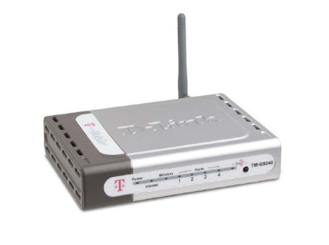 D-Link TM-G5240 54Mbps 802.11g Wireless 4-Port Router