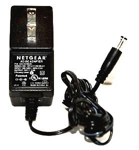 Genuine Netgear 332-10190-01 12V, 1A AC Power Supply