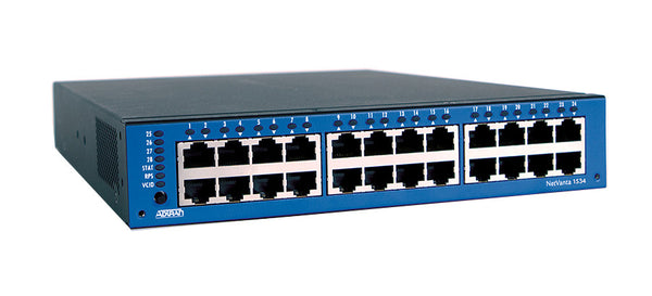 ADTRAN 1702590G1 NetVanta 1534 Layer 3 Switch24 Port4 Slot2410/100/1000Base-T4 x SFP (mini-GBIC)