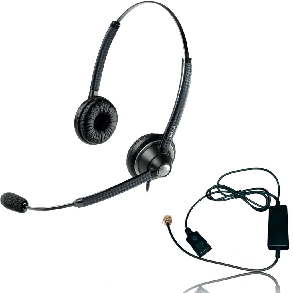 Cisco certified Jabra Biz 1925 QD Direct Connect Headset Bundle for Ci
