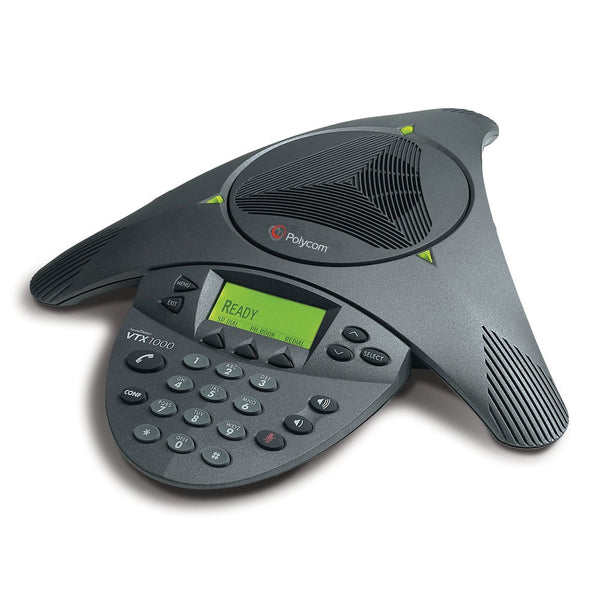 Polycom SoundStation VTX 1000 Conference Telephone - Mics and Subwoofer Not Included