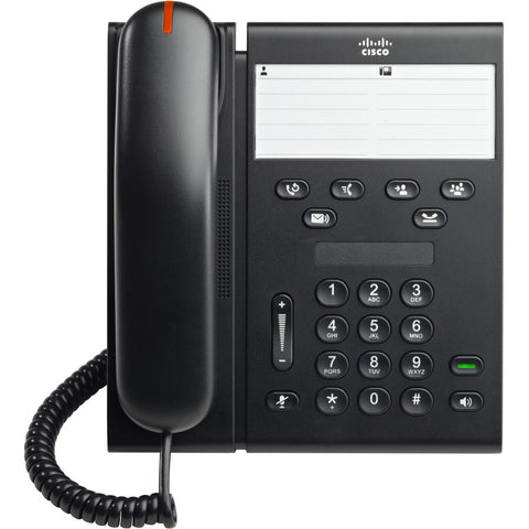 Cisco CP-6911-C-K9= Unified IP Phone Charcoal Standard Handset