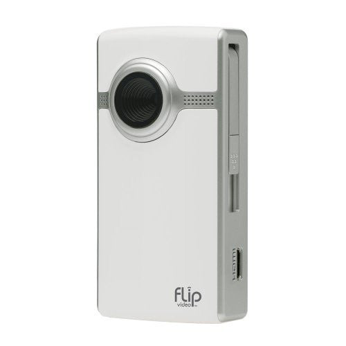 Flip UltraHD Video Camera - White, 4 GB, 1 Hour