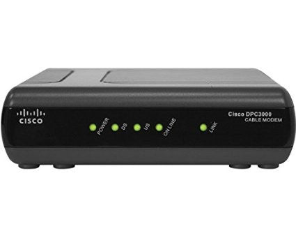 Cisco DPC3000 Docsis 3.0 Cable Modem
