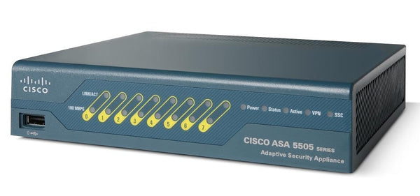 Cisco ASA5505-U-AIP5-K9 ASA 5505 Unlimited User IPS with Security Plus