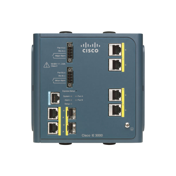 Cisco IE-3000-4TC-E Industrial Ethernet Switch with 2x Gigabit SFP