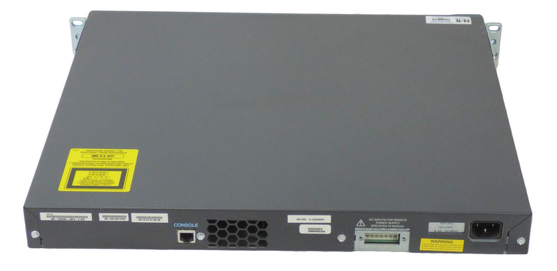 Cisco WS-C3560G-48PS-S 48-port 10/100/1000 PoE Managed L3 Switch with 4-port Gigabit SFP