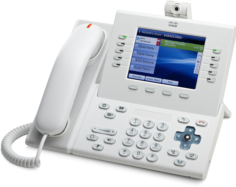 Cisco CP-9951-W-CAM-K9 White Unified IP Phone