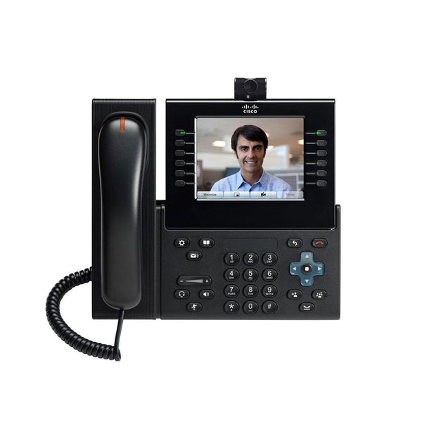 Cisco 9971 Charcoal Unified IP Phone with Camera and Slimline Handset