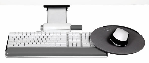 Humanscale 5G 900 Keyboard System with 22in Track, Gel Palm Rest and 9in High Clip Mouse