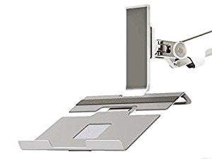 Humanscale M2NHS Silver Notebook Mount Laptop Holder Bracket for M2 or M8 Monitor Arms