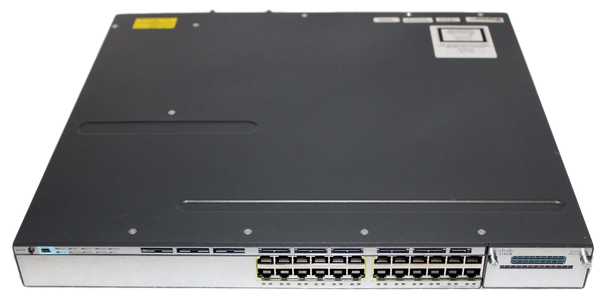 Cisco WS-C3750X-24P-S Managed POE Switch
