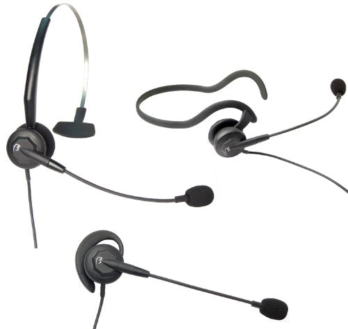 VXi 202795 Tria G Convertible Monaural Headset with Microphone