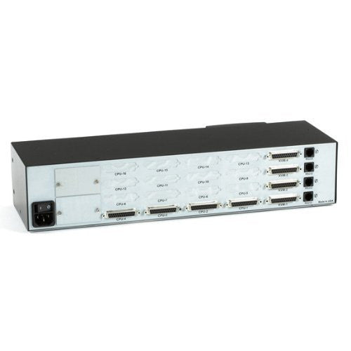 Matrix ServSwitch for PC, 4 Users x 4 CPUs (Full Chassis Style)