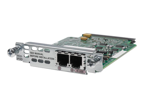 Cisco VIC2-2FXO 2-port Voice Interface Card