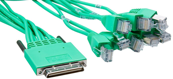 Cisco - Serial RS-232 cable - RJ-45 (M) - RJ-45 (M) - 10 ft CISCO 3800 2800 1800 HI DENS 8PRT ASYNC CBL Manufacturer Part Number CAB-HD8-ASYNC=