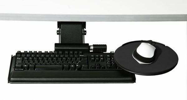 Humanscale 5G500-G2022 5G 500 Big Keyboard System 22in Track 27in Tray 20in Gel Palm Support