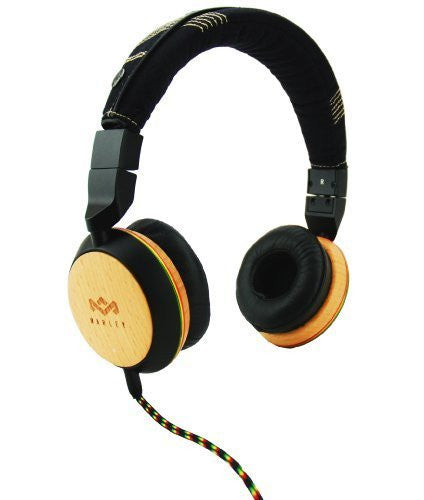 The House of Marley Stir It Up Over-Ear Headphones - Freedom Collection - Three-Button Apple Mic (EM-FH013-HA)