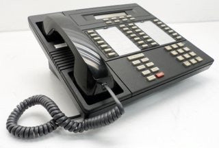 Lucent 8528T: ISDN Desktop Phone (Black) with 28 programmable keys