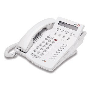 Avaya 6408D+ Definity PBX Phone in White, with Display