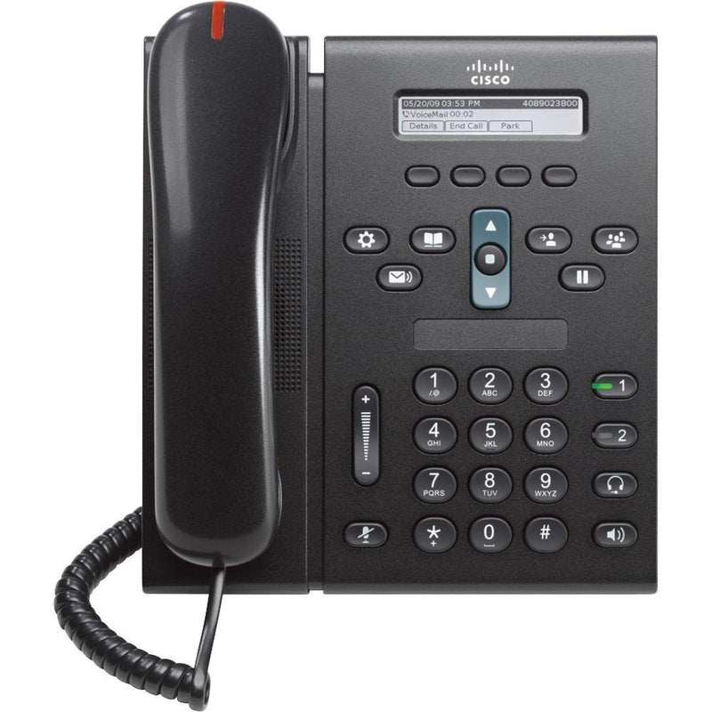 Cisco CP-6921-C-K9 2-Line IP Telephone