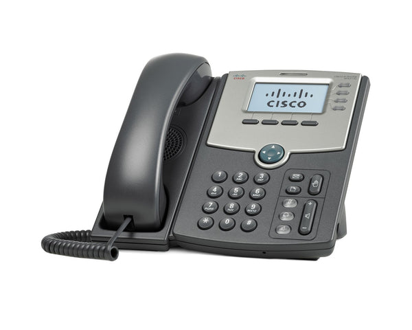 Cisco SPA514G 4-Line IP Phone with 2-Port Gigabit Ethernet Switch, PoE, and LCD Display