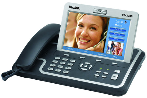 Yealink VP-2009 IP Video Phone. Touch Color Screen. Plus AC Power.