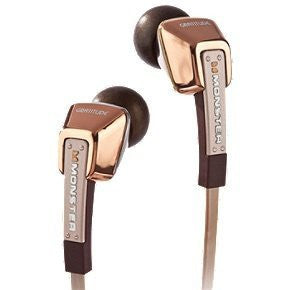 Monster Cable MH GRT IE RGLD CT WW Gratitude In-Ear Headphones