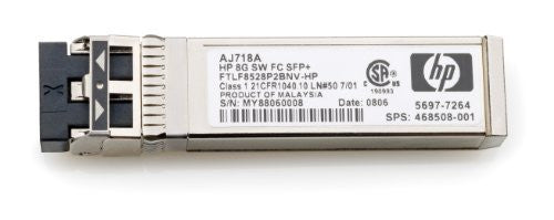 HP 8GB Short Wave Fc Sfp+ 1 Pack