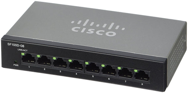 CISCO SYSTEMS SF100D-08-NA 8 Port 10/100 Desktop Switch