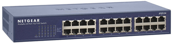 Netgear JFS524 ProSafe 24-port Fast Ethernet Switch