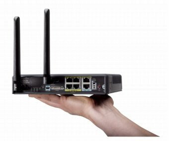 Cisco C819HWD-A-K9 Secure Hardened 3G Router w/ Dual Wifi