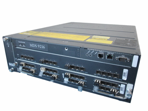 CISCO - DS-C9200 MDS9216 16 port FC+1slot Modular Switch
