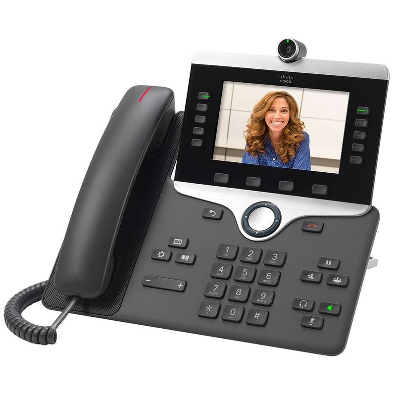 Cisco CP-8845-K9 IP Video Phone-Charcoal
