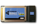 Cisco-Linksys WPC54G Wireless-G Notebook Adapter