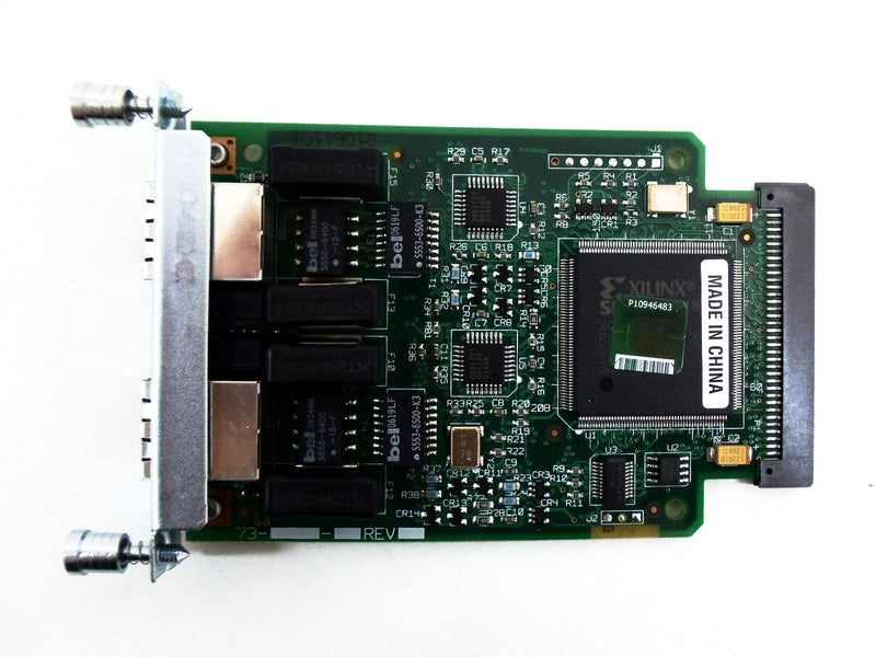Cisco VWIC-2MFT-T1 2-Port Multiflex Trunk WAN Interface Card