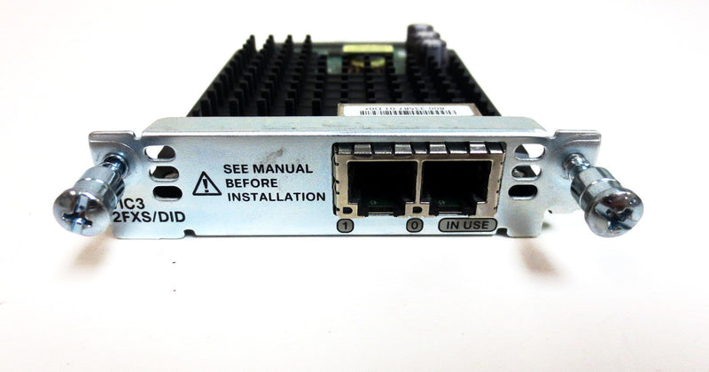 Cisco VIC3-2FXS/DID 2-port Voice Interface Card FXS and DID