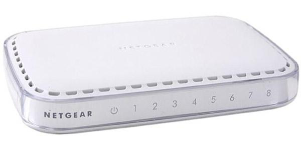 NETGEAR GS608NA 8-Port Gigabit Ethernet Switch(GS608-300PES)