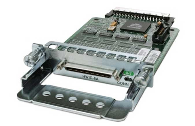 Cisco 8-Port Async High-Speed WAN Interface Card (HWIC-8A=) -