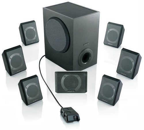 Creative Inspire P7800 7.1 Powered Surround Sound Speaker System