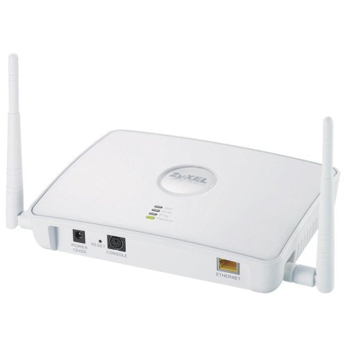 ZyXEL NWA3163 802.11g Hybrid Wireless Access Point / WLAN Controller, HighPowered 400mW radio with Plenum rated housing
