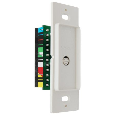 Bose Single Source / Destination Plate White