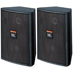 JBL Control 23T 3-1/2 2-Way Vented Speaker Pair Black