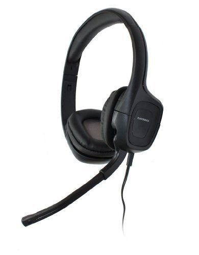 440e626f6d8 Plantronics Audio 355 Black Headband Multimedia Stereo Headset with  Microphone