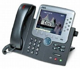 Cisco CP-7971G-GE SIP IP Color, Multiline Phone (SIP Plug and Play)