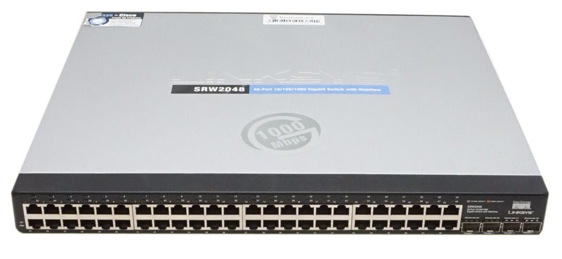 Cisco SRW2048 48-port Gigabit Switch - WebView