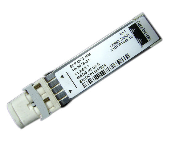 Cisco SFP-OC3-MM SFP Multi-mode Fiber