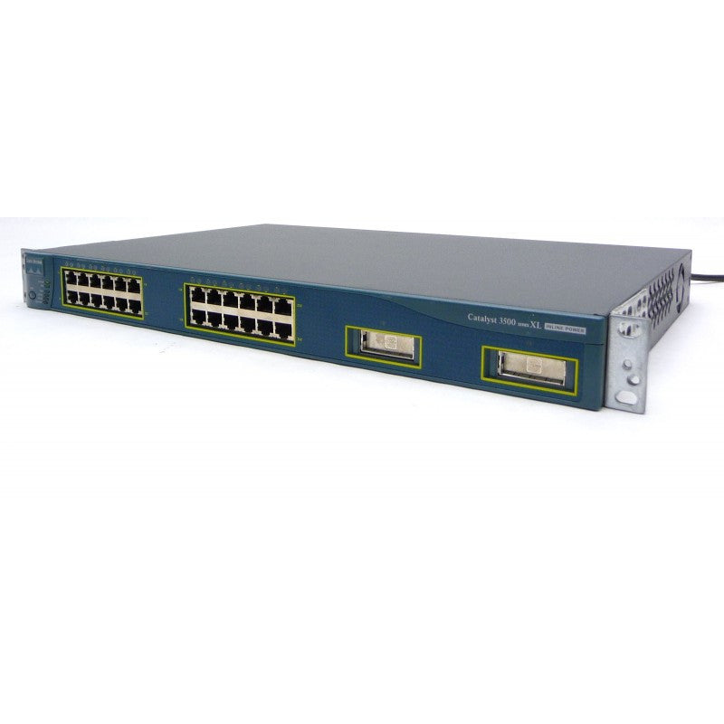 Cisco WS-C3524-PWR-XL-EN Catalyst 3524-PWR Stackable 10/100 Ethernet Switch